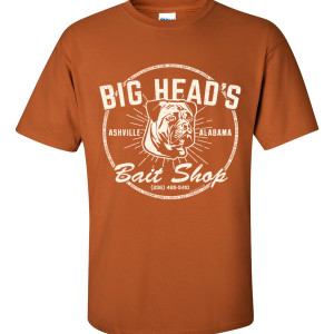Big Head's Bait Shop T